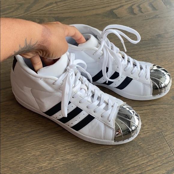 adidas Shoes | Silver Shell Toe | Poshmark